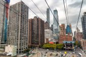 Fotografie Letecký pohled na Manhattan mrakodrapů - New York City