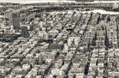 letecké panorama New Yorku