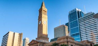 Brisbane skyline on a beautiful day, Australia