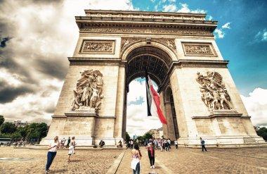 Arc de Triomphe in Paris.