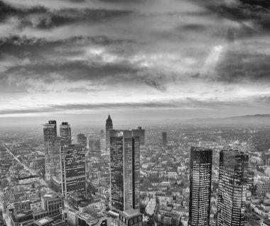 Frankfurt, Germany. Beautiful city skyline at dusk