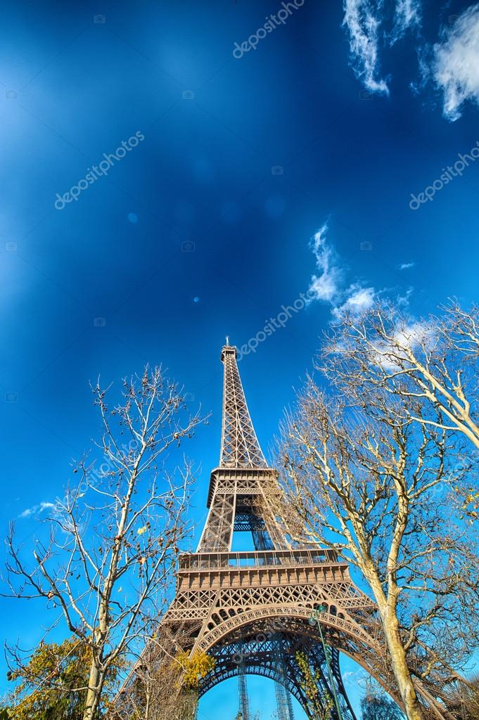 Terrific view of Eiffel Tower