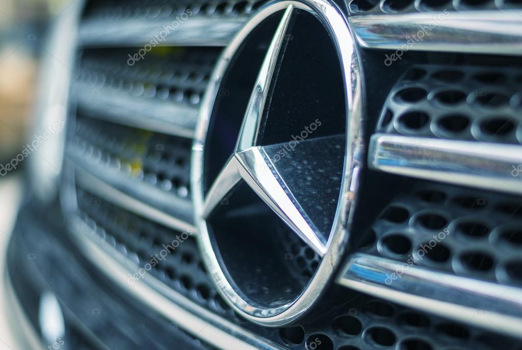 Mercedes Benz Teken Redactionele Stockfoto C Jovannig 55935115