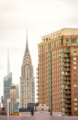 budovy a mrakodrapy Manhattanu