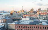 Fotografie budovy z new Yorku