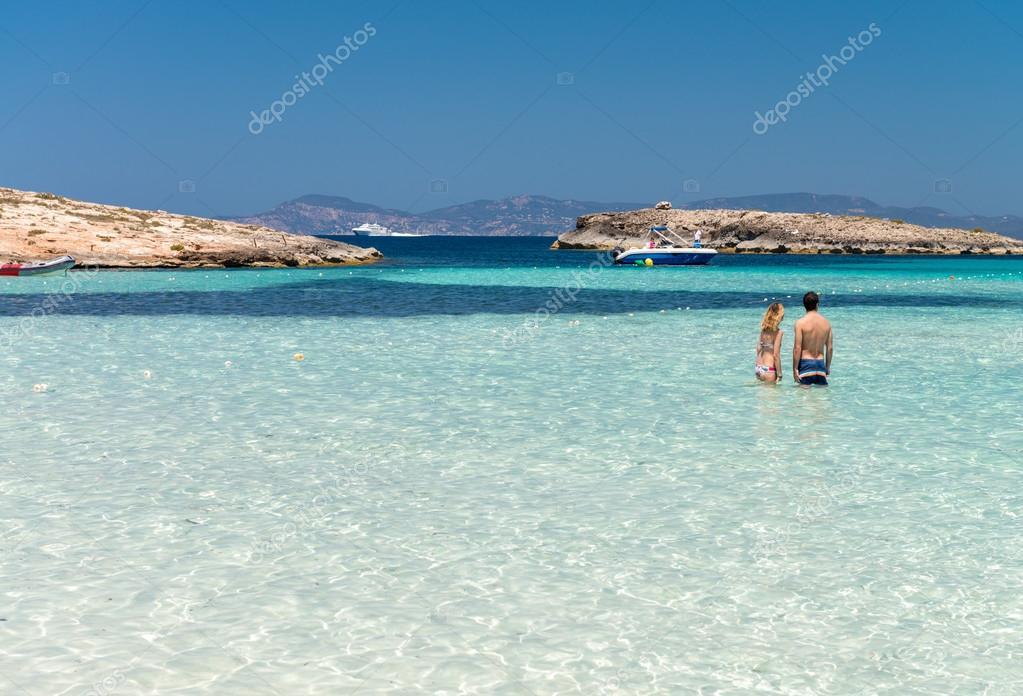 playa de ses illetes spanien