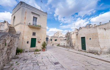 Ancient town of Matera, Italy