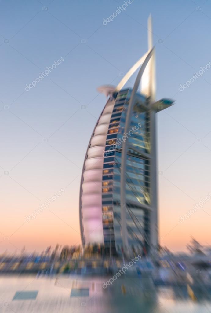 Burj Al Arab 7 Sterne Hotel Redaktionelles Stockfoto Jovannig