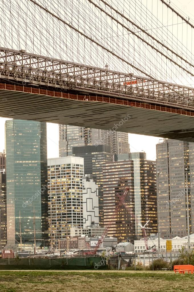 New York - Downtown Manhattan buildings
