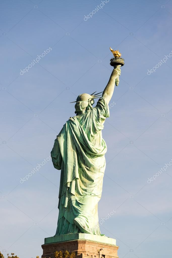 The Statue of Liberty, symbol of New York City