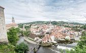 Fotografie Český Krumlov středověké Panorama