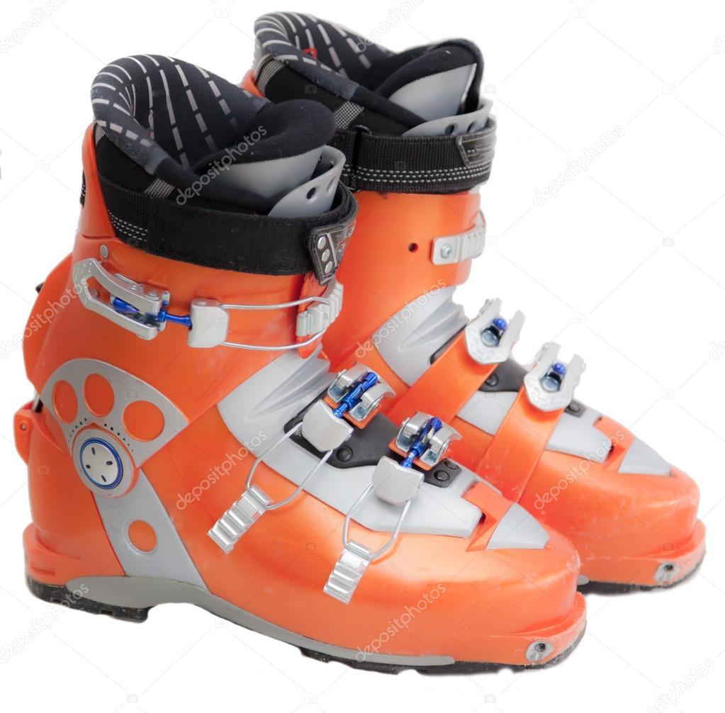 cheaper f37d9 324ae Moderni scarponi da sci professionali — Foto Stock ...