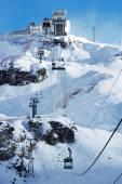 Mountain resort lanovka