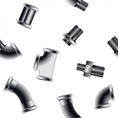 water pipe connectors pattern
