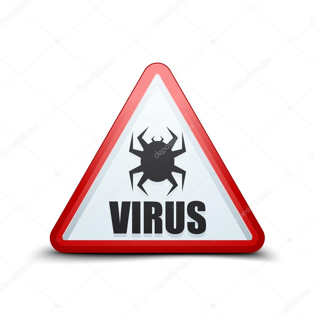 Внимание вирус картинки