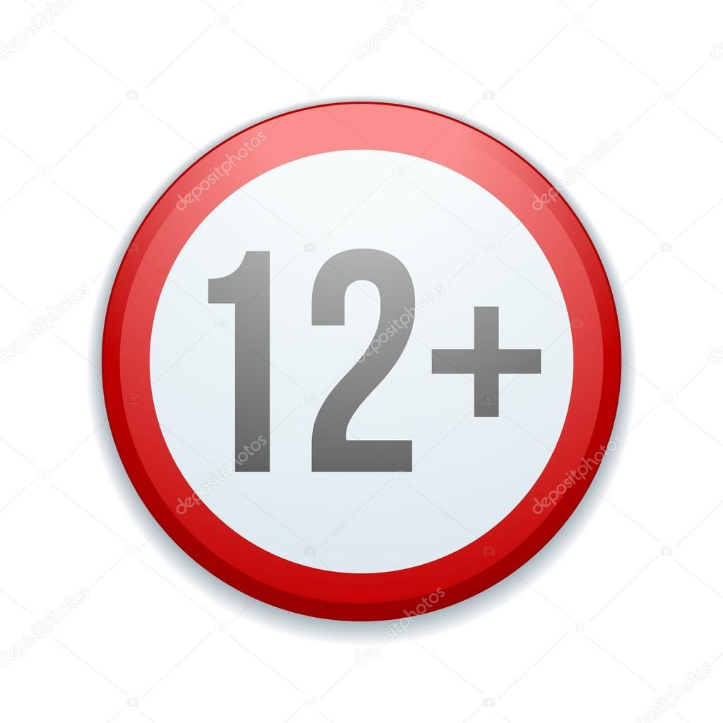 12 >> 12 Plus Kids Danger Sign Stock Vector C Yuriy Vlasenko 103696266