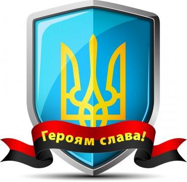 Ukraine Trident Shield sign