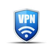 Fotografie VPN-Sicherheit-Schild Schilder
