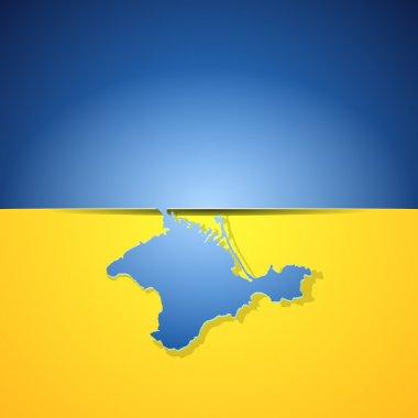 Crimea is Ukraine concept