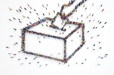people forms elections symbol