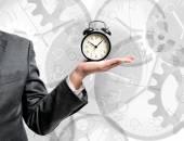 Az idő pénz koncepció.