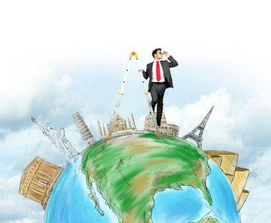 Businessman finds new destinations