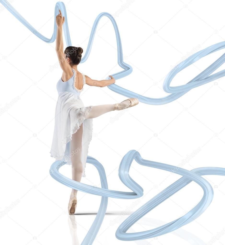 Ballerina di danza classica donna danza in punta di piedi for Piani di fattoria di 2000 piedi quadrati