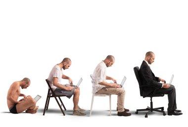 evolution and success of a businessman