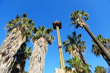 The Hurakan Condor Ride in Port Aventura theme park, Salou, Spai