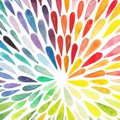 Vektor akvarell színes absztrakt háttér