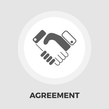 Agreement flat icon