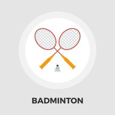 Badminton flat icon