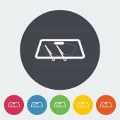 scheibenwischer symbol windschutzscheibe zeichen stockvektor 139920796. Black Bedroom Furniture Sets. Home Design Ideas