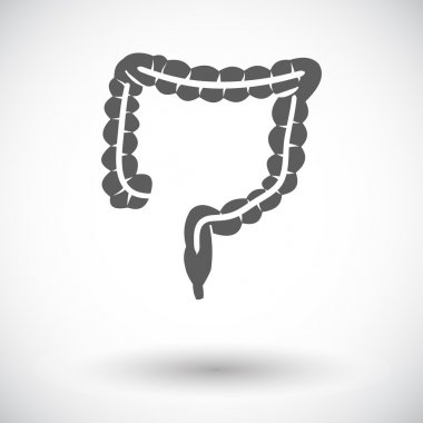 Intestines icon.