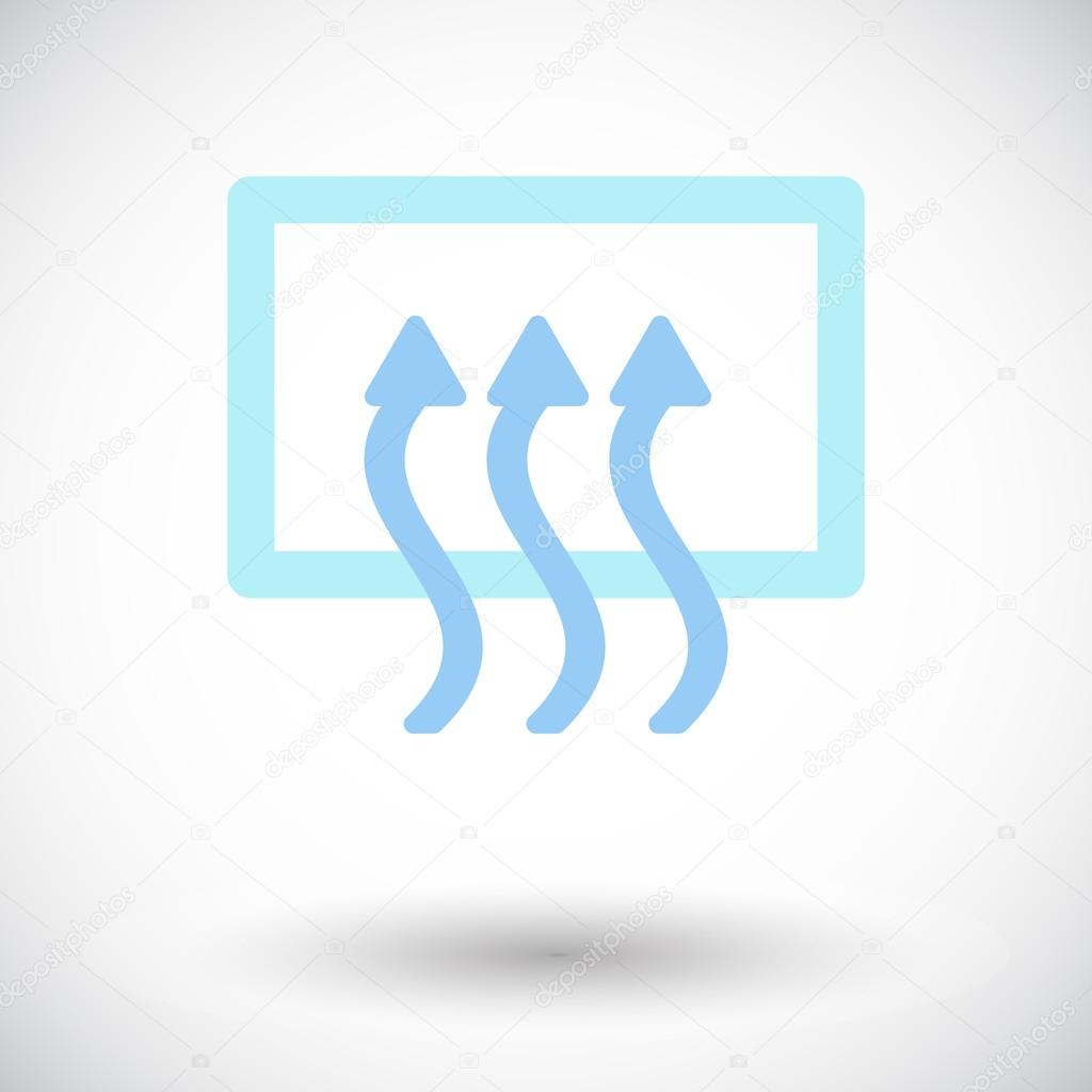 ᐈ Air Flow Stock Vectors Royalty Free Airflow Icon Download On Depositphotos