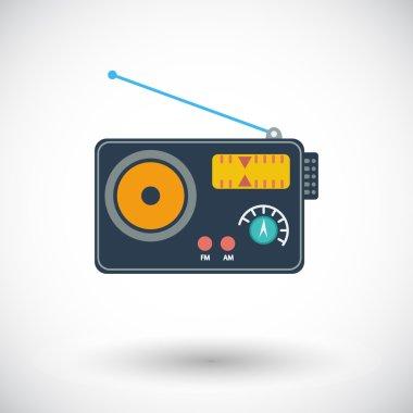 Radio single icon.