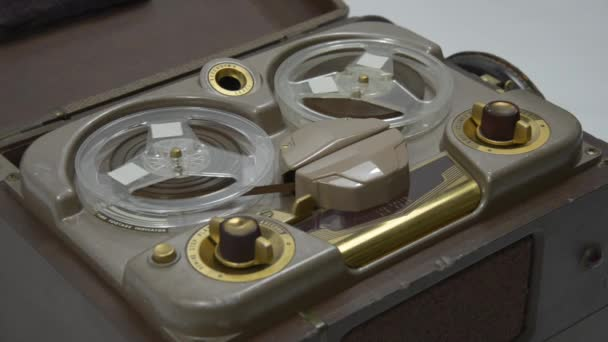 Photo Old Tube Reel to Reel Tape Recorder 01