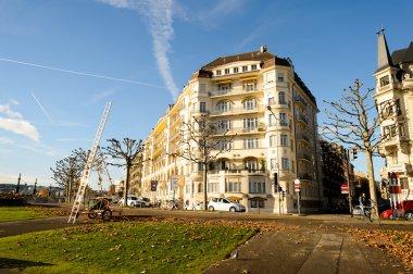 View of Geneva city
