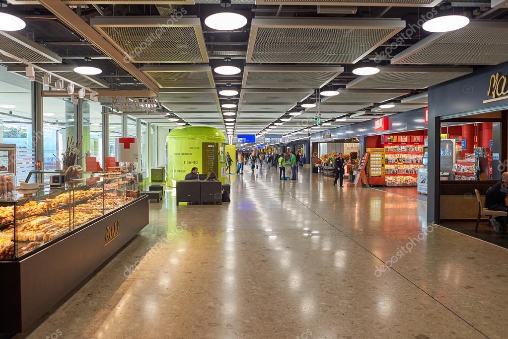 ジュネーブ国際空港 — ストック写真
