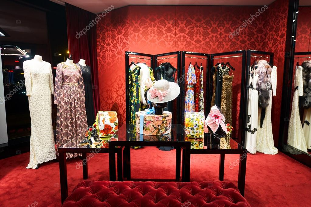 new concept b5e99 b10aa Dolce & Gabbana store – Stock Editorial Photo © teamtime ...