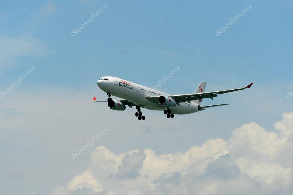 Dragonair aircraft landing