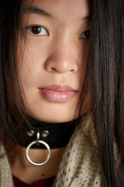 Portrait of asian girl