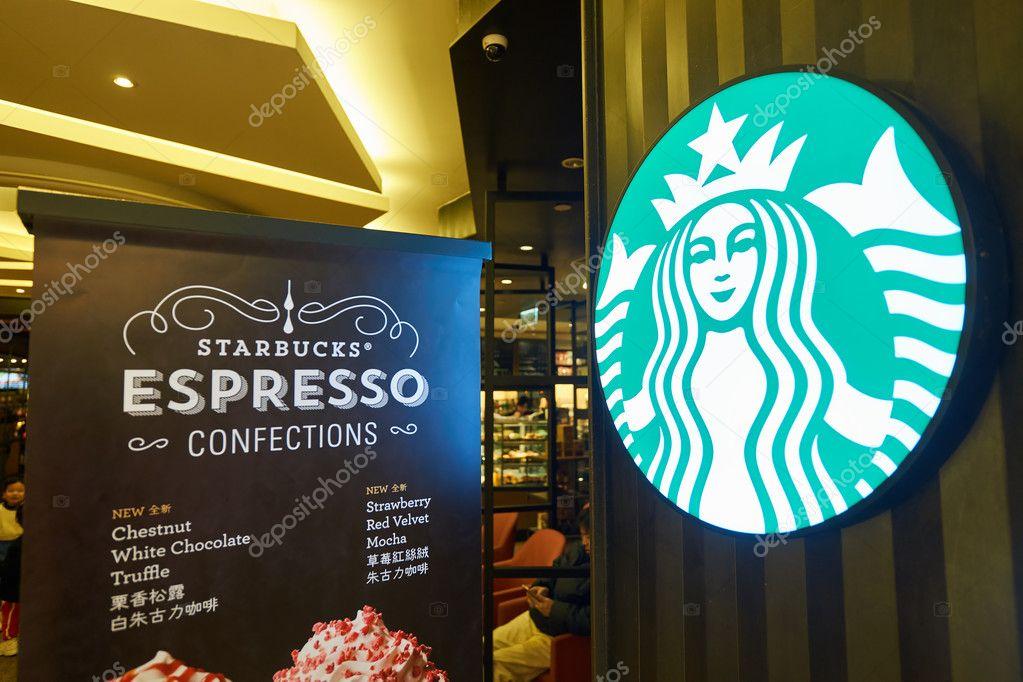 Wallpaper Starbucks Starbucks Cafe In Hong Kong Stock