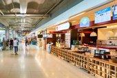 Vnitřní část letiště Suvarnabhumi