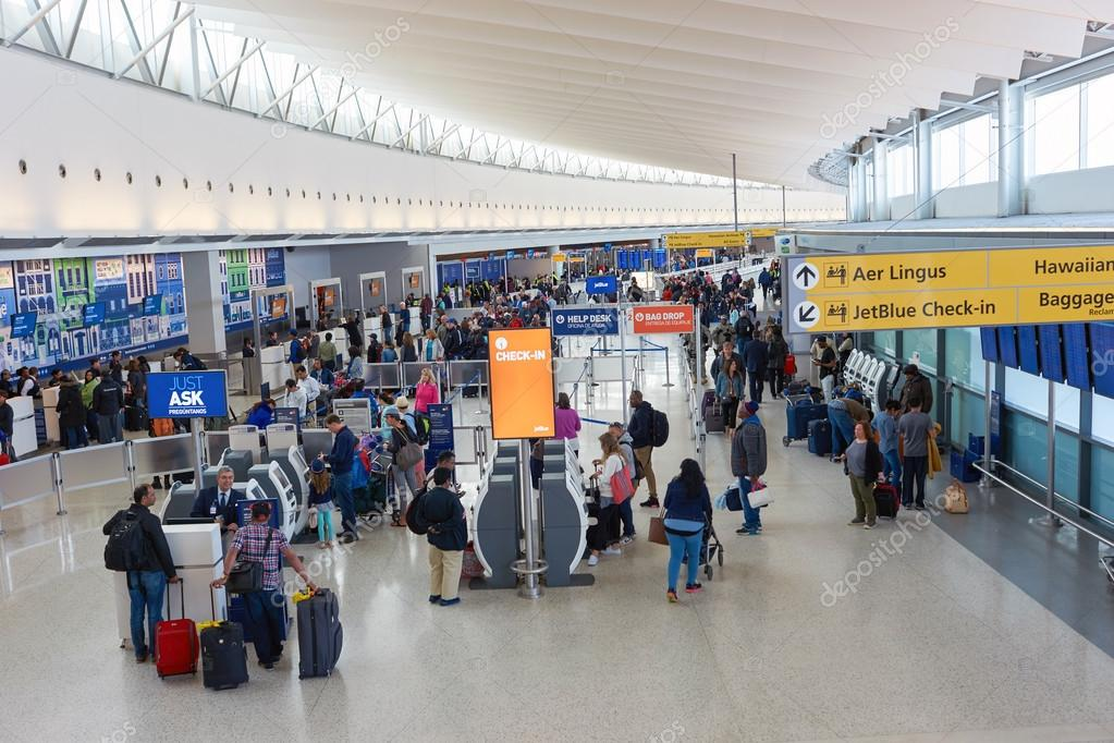 Pictures: jfk airport | Inside of JFK airport – Stock
