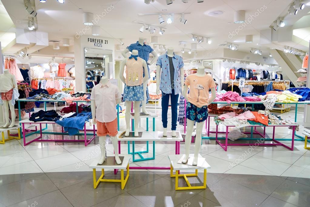 Forever 21 Store In New York Redaktionelles Stockfoto Teamtime