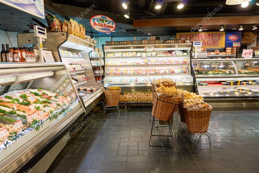 Gourmet Garage In New Yourk U2014 Stock Photo