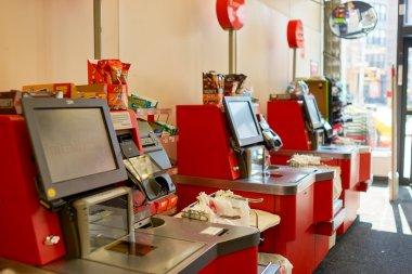 nterior of CVS store