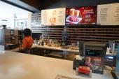 Inside of McDonalds rastaurant