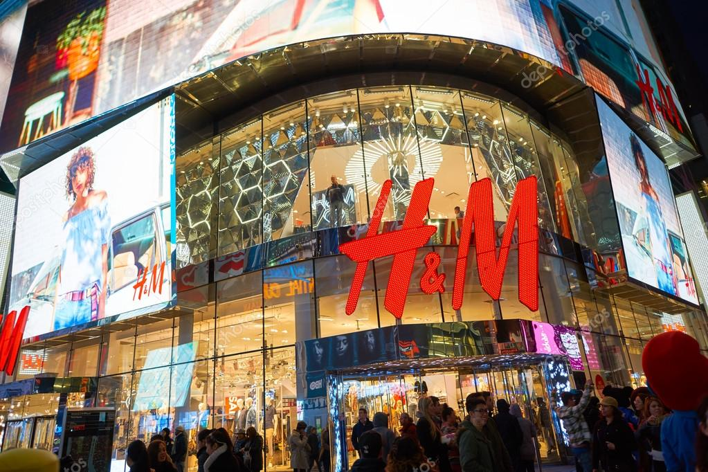 Times Square H&M store – Stock Editorial Photo © teamtime ...